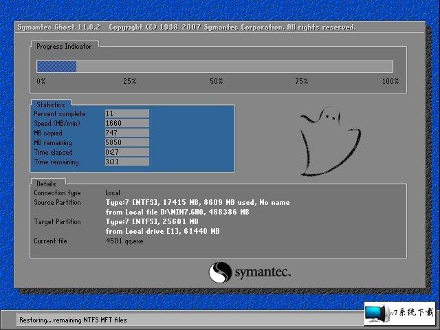 电脑公司 Ghost Win7 32位旗舰版 v2019.09